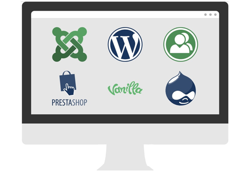One-Click Install Web Apps. - Install over 70 popular apps in an instant - A3 Cloud Hosting